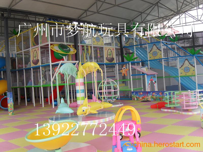 供应江西2013年新款室内电动儿童乐园设备,淘气堡厂家