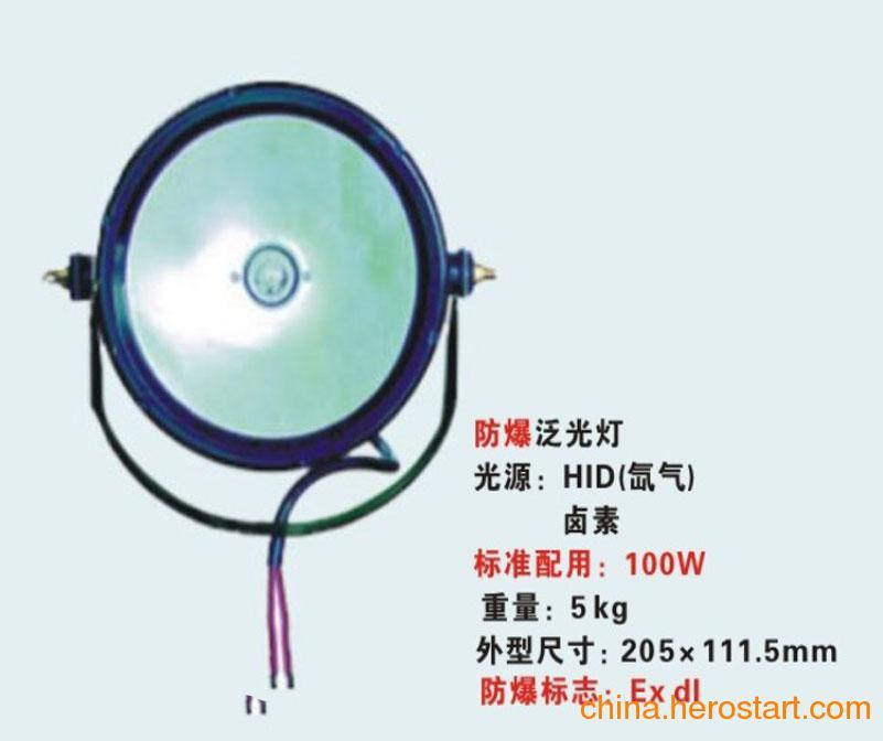 供应DGY100/24防爆泛光工作灯