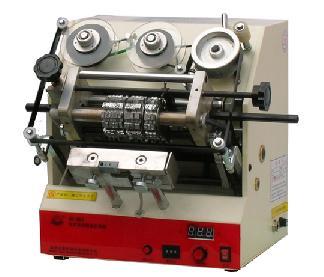 GH-600台式电动鞋盒打码机(字粒式)
