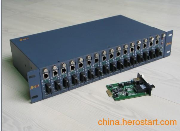 供应n-net16槽双电源机架NT-R16-2-A_光纤收容箱_徐州生产批发