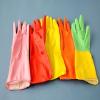 供应多色橡胶家用手套,洗衣手套,劳保手套