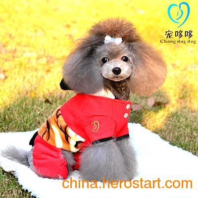 供应厂家直销宠物服装 大量批发经营各类宠物服饰