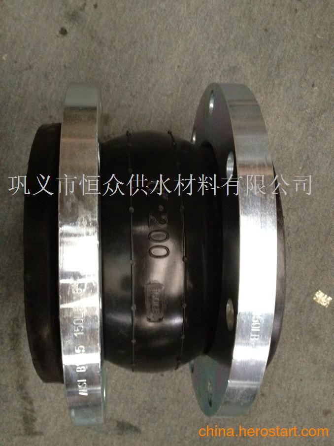 供应兰州排水管道橡胶软接头产品,可曲挠橡胶接头