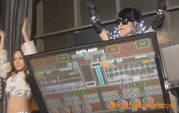 供应触屏DJ打碟机