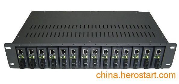供应CVT-RACK-14D,netlink14槽双电源收发器机架安装方法