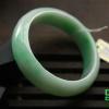 供应兄弟翡翠 阳绿色飘绿翡翠手镯 天然缅甸玉器玉镯子精品