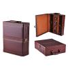 供应大量现货红酒礼盒,高档红酒皮盒,亦可定做