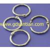 供应活页扣,金属扣,金属圈,卡圈,金属铁环,电镀铁环