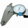 供应上工带表卡尺0-150mm/精度0.02 表盘指针卡尺0-200-300mm