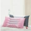 供应艾诗曼家纺 新品 半磁疗决明子 花草保健枕 单人枕头 粉红灰色两色