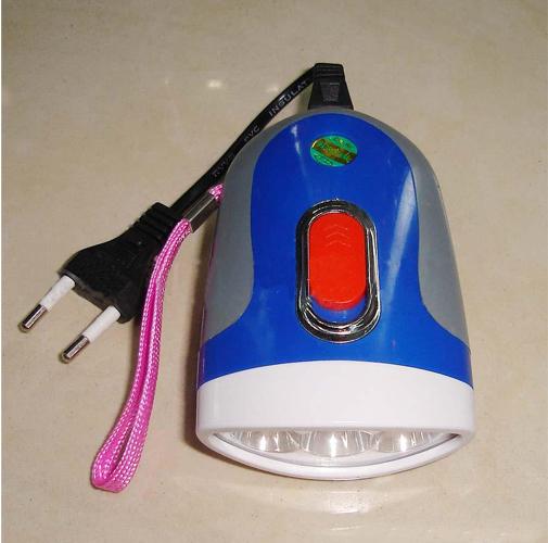 3灯充电手电筒