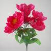 供应仿真牡丹花,仿真把花,桃红色牡丹,手捧花,牡丹盆景仿真花