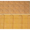 供应永州市灰色盲道条橡塑盲道条 盲道砖价格