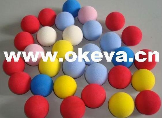 供应泡棉球,EVA球,彩色球,发泡球