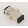 供应生产定做矩形无耳SC光纤适配器,光纤法兰