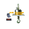 供应衡器 无线耐高温吊秤  耐高温隔热型15吨,配小推车的吊钩秤