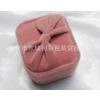 供应厂家直销粉红色蝴蝶结戒指盒