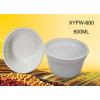 供应一次性淀粉环保汤碗-600打包碗