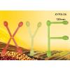 供应淀粉环保卡通勺-带颜色
