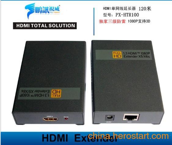 供应鹏讯厂家直销 120米HDMI网络传输器 HDMI编码器