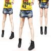 供应2013时尚韩版女式牛仔裤批发
