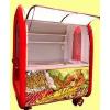 供应台州移动美食车休闲的烧烤小吃车如何办理小吃车业务