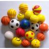 供应环保彩色PU球