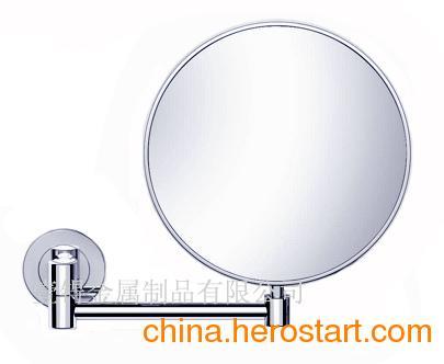 供应全铜浴室镜、方形美容镜、超薄剃须放大镜、浴室剃须镜、