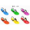 供应A20 2013揭阳拖鞋 果冻鞋 新款闪亮水晶塑料凉鞋 坡跟鸟巢 果冻鞋
