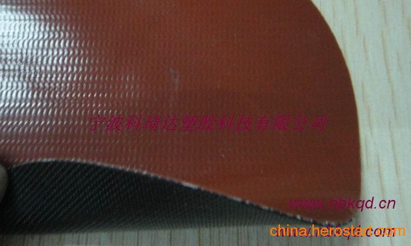 供应高弹耐寒PVC夹网布下水裤面料 KQD-A-239