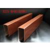 供应U铝方槽南京铝方通厂家了挂片吊顶铝方通施工工艺