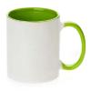 供应热转印空白耗材内彩杯彩把杯陶瓷工艺品11盎司厂家批发