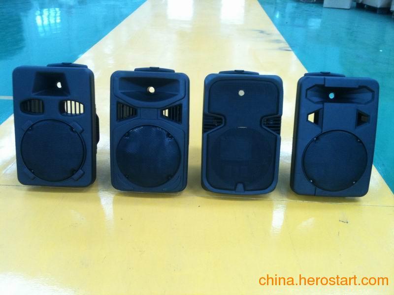 供应12寸新款拉杆音箱塑料壳