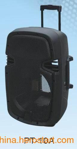 供应厂家直供PT-10A充电拉杆塑料外壳便携式电瓶音箱外壳