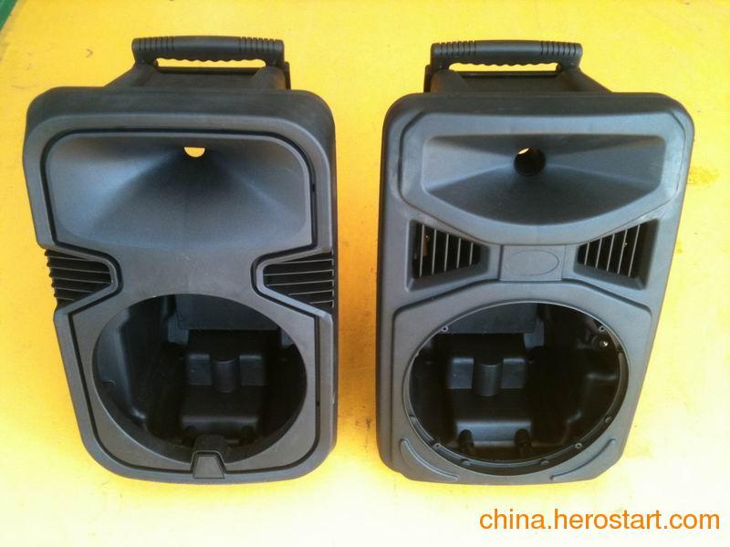 供应电瓶音箱塑料壳 便携户外有源音箱塑料壳