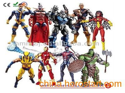 供应定制人物模型玩具、游戏人偶玩具、热销塑胶雕塑