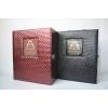 供应BK-XL6钻石纹双支中配皮盒
