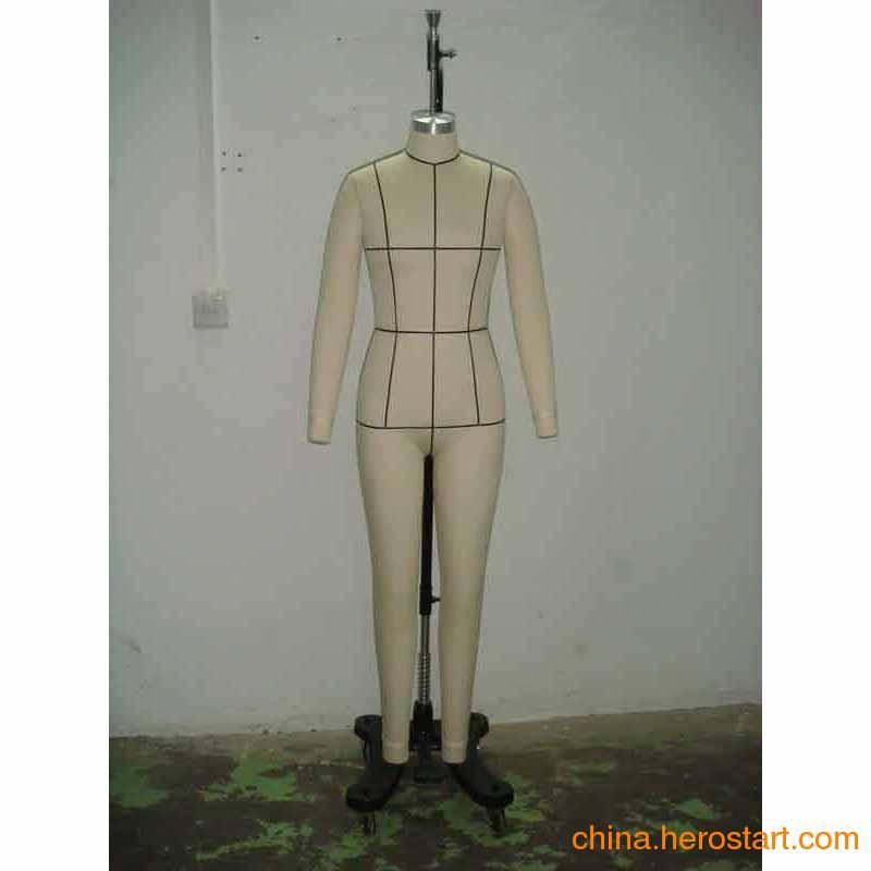 供应全身试衣板房人台 广州板房直插针人台 立体裁剪女模特
