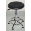 供应防静电发泡升降椅 注塑靠背旋转椅