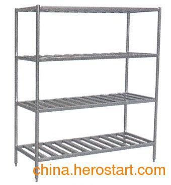 供应不锈钢厨具 菜货架 四层菜架