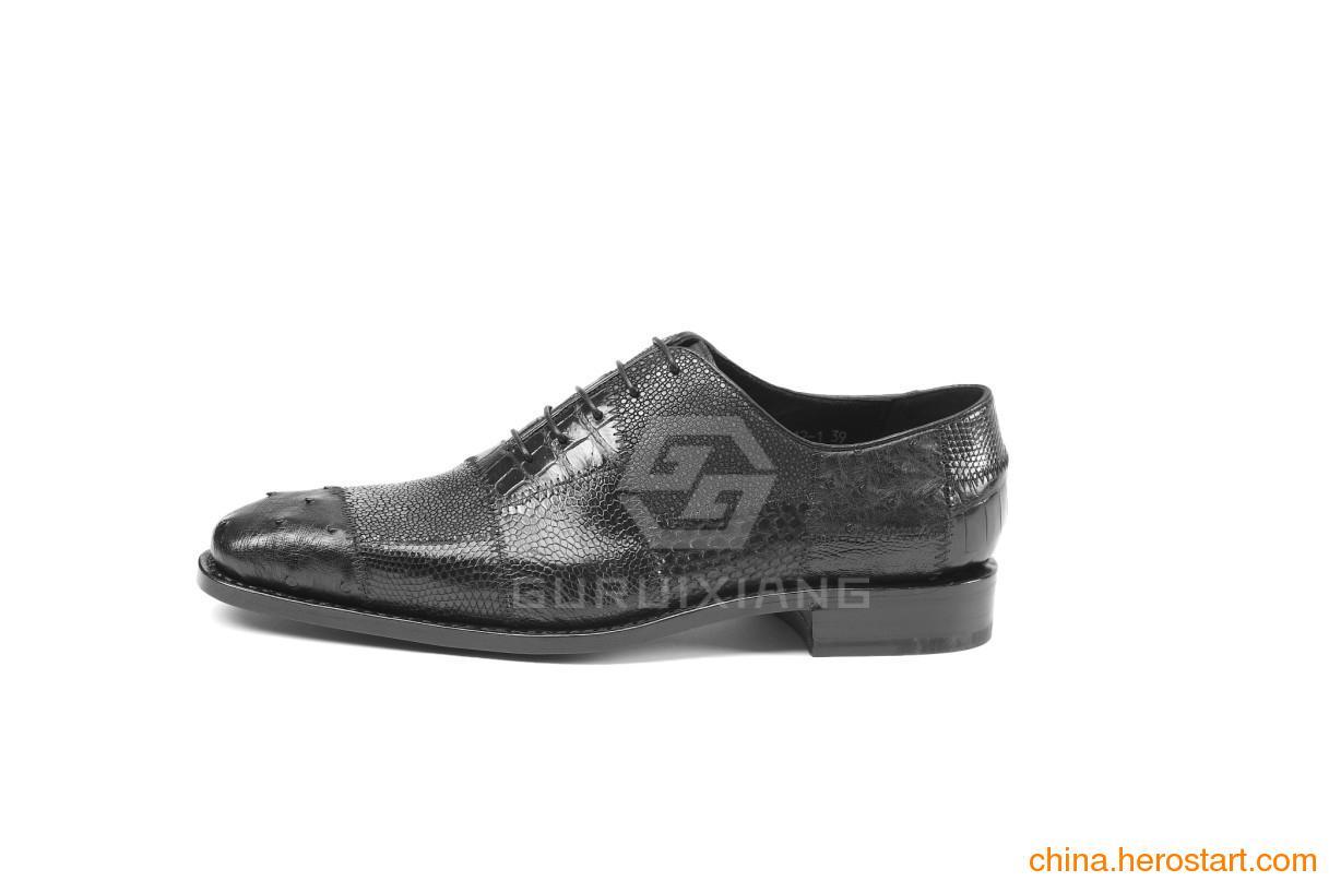 供应高和专业定制手工鞋 高端商务皮鞋 男鞋定制 内增高定制