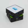 供应USB HUB/USB 3.0 HUB/USB 正方形4口集线器