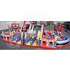 供应游乐设备儿童户外大型充气城堡出租出售赛车主题乐园