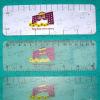 供应PVC透明广告尺/刻度尺PP书签卡套吊牌定制/儿童文具礼赠品定制