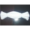 供应亮银T/C1.5cm(4*4棉绳)反光包边条