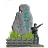 供应云南地区石头景观广告标识制作
