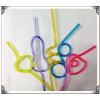 供应PVC造型管 PVC透明艺术吸管
