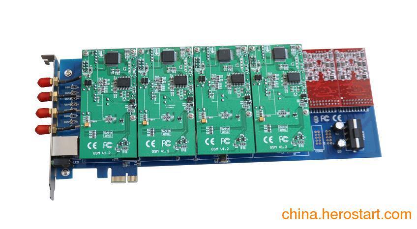 供应SINOV-GSM400E PCI-E GSM asterisk卡