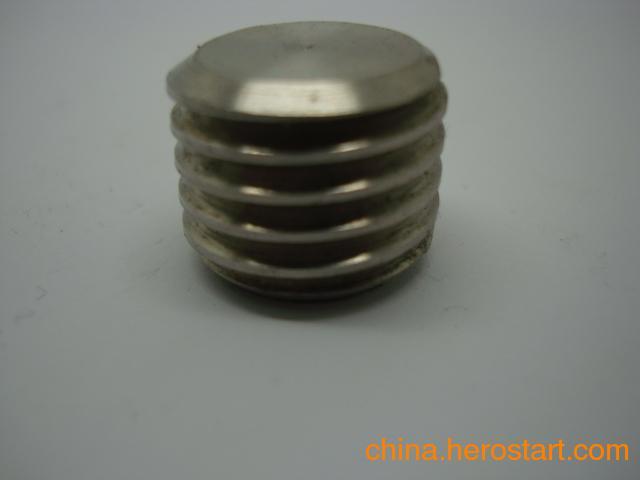 供应不锈钢堵头,封堵,管帽,非标接头定做加工厂家在温州三诚定制
