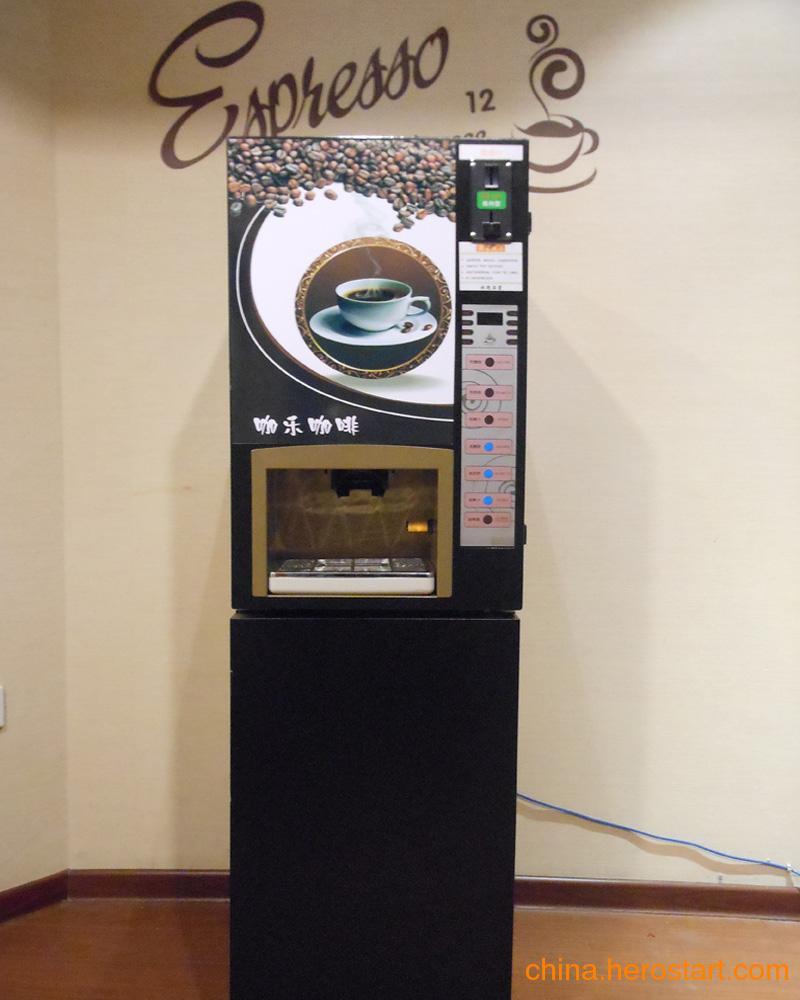 供应咖乐三冷三热投币咖啡机